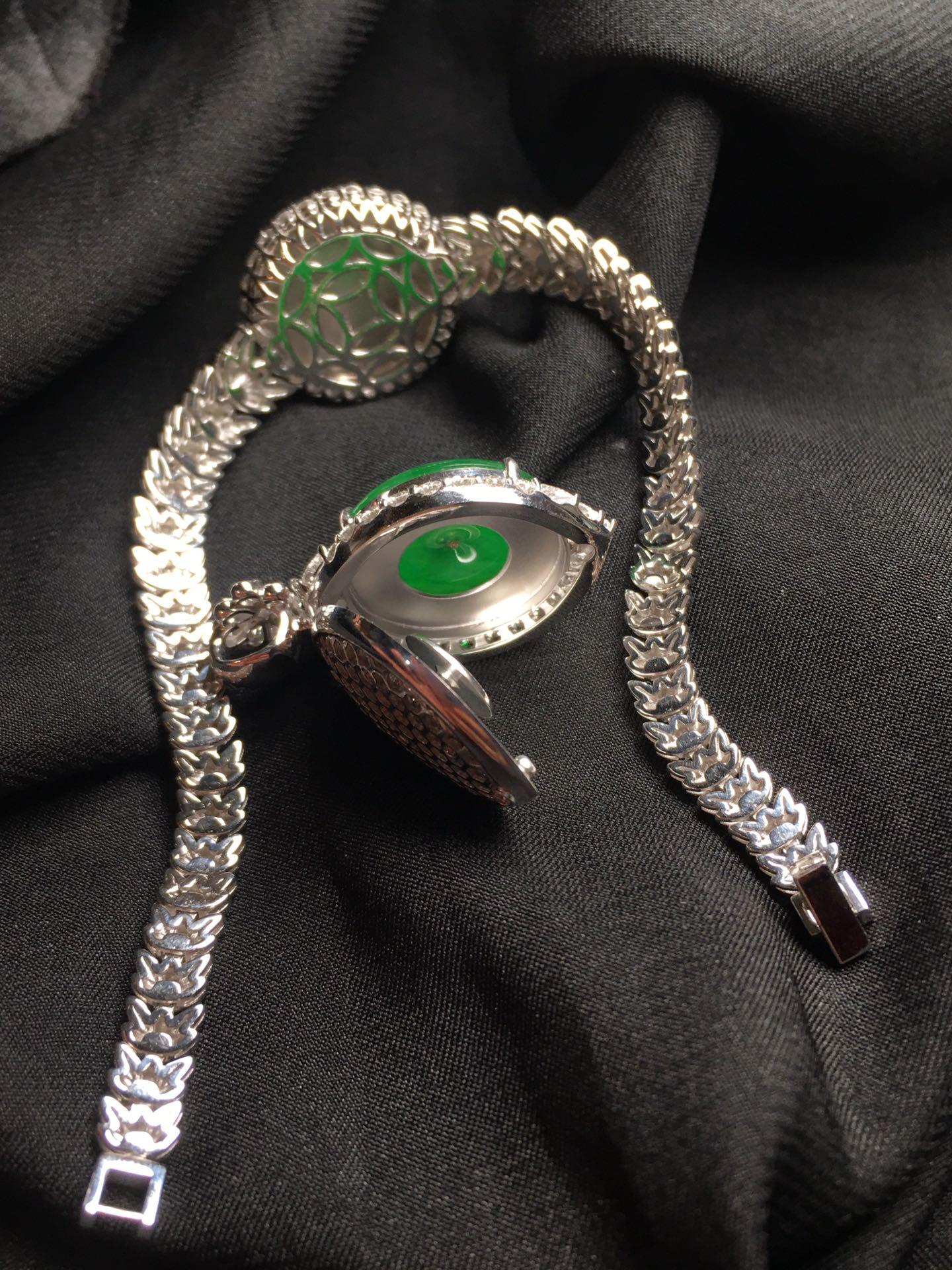 平安扣套装,18k金华奢钻镶石嵌第6张