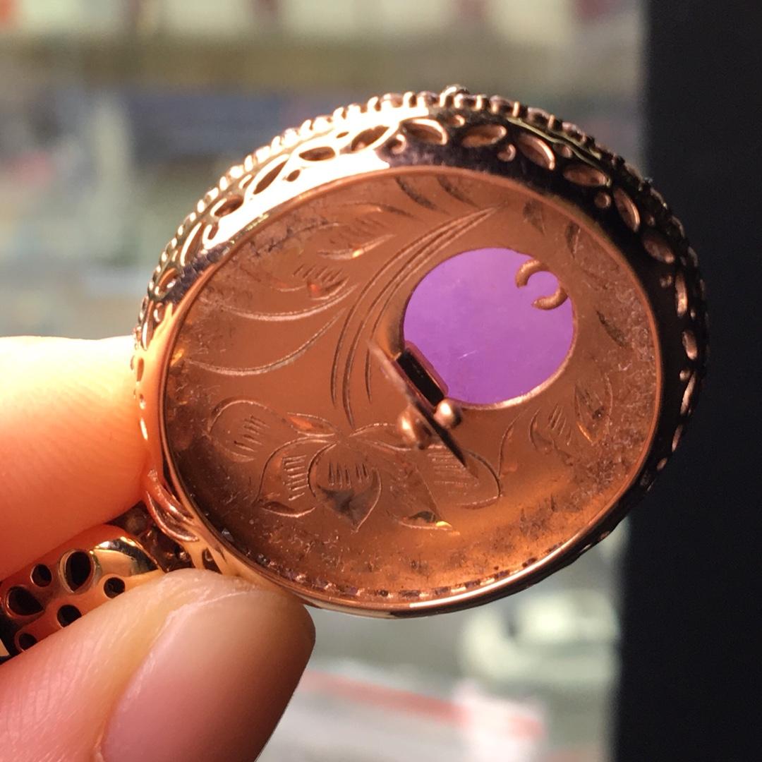 紫罗兰吊坠,完美饱满第7张