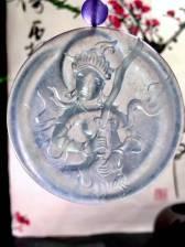 大师作品,大智文殊菩萨,智慧之剑,55.3-6.8mm